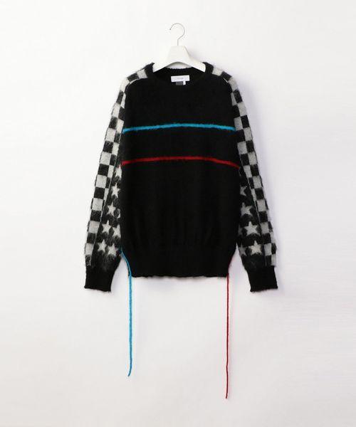 【2018?新作】 【セール】BMX MOHAIR MOHAIR SWEATER(ニット/セーター)|FACETASM(ファセッタズム)のファッション通販, 那須郡:d4dfb8aa --- skoda-tmn.ru