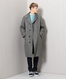 <AURALEE>DOUBLE FACE CHECK COAT/コート.