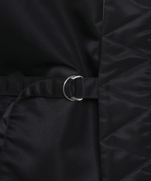 VANQUISH(ヴァンキッシュ)の「SAKURA MA-1×SAMUE リバーシブルTYPE(ミリタリージャケット)」|詳細画像