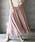 HER CLOSET(ハークローゼット)の「【HERCLOSET】フレアマキシスカート(スカート)」|ピンクベージュ