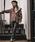 mysty woman(ミスティウーマン)の「スリットジャージーパンツ 842448(スラックス)」|詳細画像