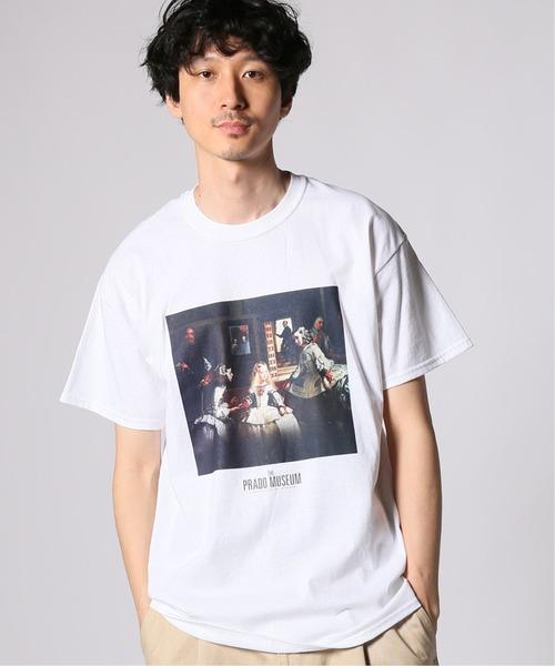 JOURNAL STANDARD(ジャーナルスタンダード)の「【PRADO MUSEUM/プラド ミュージアム】コラボT-shirts#(Tシャツ/カットソー)」|ホワイト