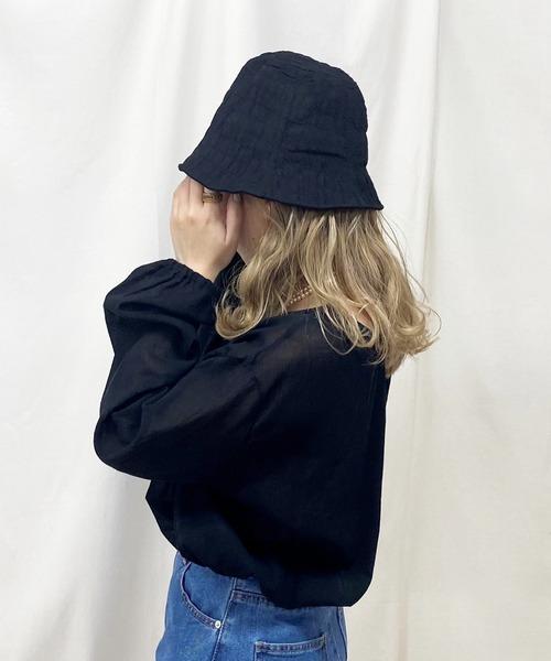crinkle hat