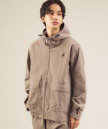 【別注】<GRAMICCI(グラミチ)/green label relaxing> アメリカン別珍 フーデッド ジップアップ ブルゾン