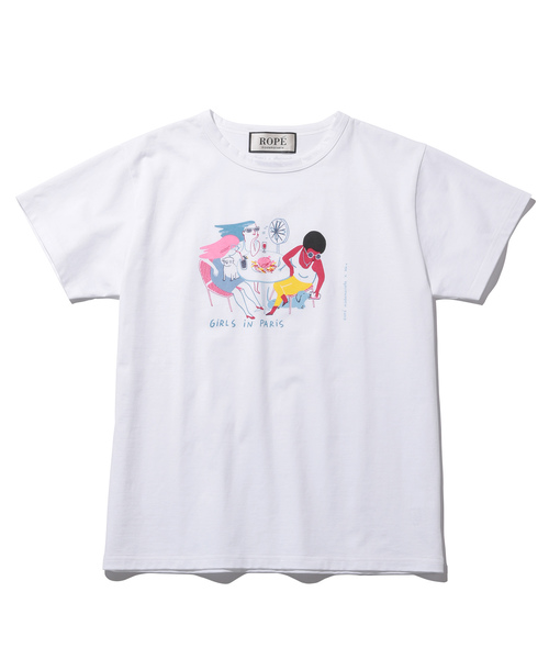 【Camille×ROPE' mademoiselle】Tシャツ