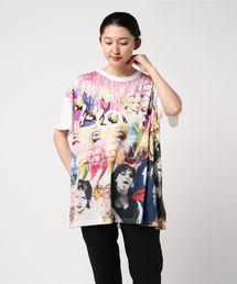 COURTNEY LOVE/LOVE DISCO pt ビッグTシャツ