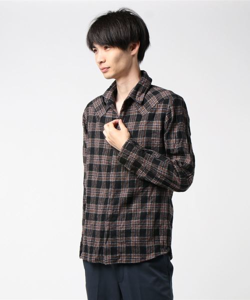 ファッションなデザイン FranCisT_MOR.K.S./フランシスト モークス/VOILDWOOL モークス/VOILDWOOL SH☆(シャツ/ブラウス)|RAWLIFE(ロウライフ)のファッション通販, カスカワ野球:bf568f8e --- pyme.pe