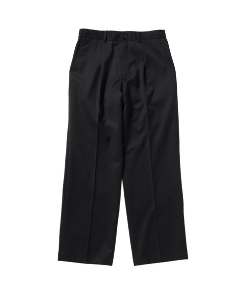 FALL WIDE TAPERED EASY SLACKS