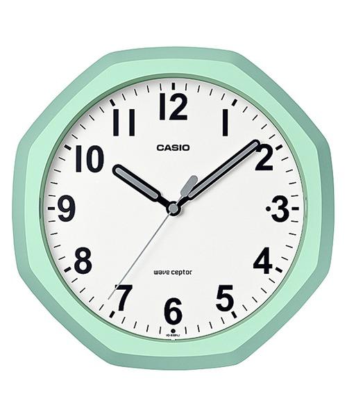 電波時計 壁掛け時計 置時計兼用 / IQ-888NJ-3JF
