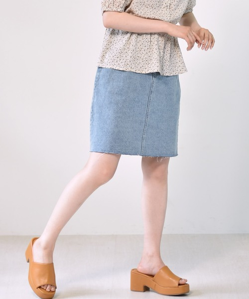 ボックスタイトミディスカート