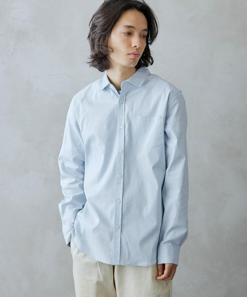 オックスフォードストレッチシャツ -2021SPRING-