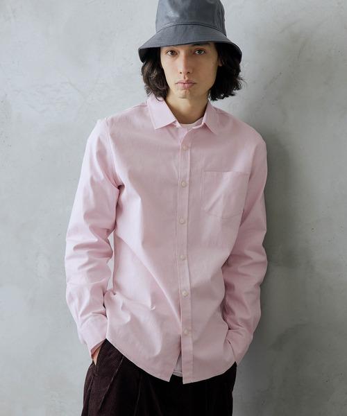 オックスフォードストレッチシャツ