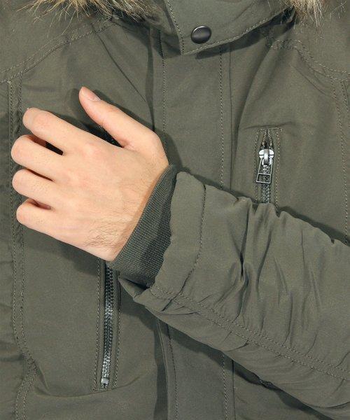 N-3B ミリタリージャケット モッズコート 中綿