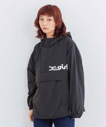 X-girl(エックスガール)の【WEB限定】NYLON ANORAK EC(ブルゾン)