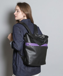Dickies(ディッキーズ)の【DICKIES/ディッキーズ】DK SYNTHETIC LETHER 2WAY BAG/合皮2wayバッグ(バックパック/リュック)