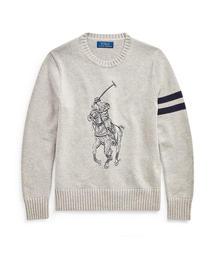 Polo Ralph Lauren Childrenswear(ポロラルフローレンチャイルドウェア)のBig Pony コットン セーター(ニット/セーター)