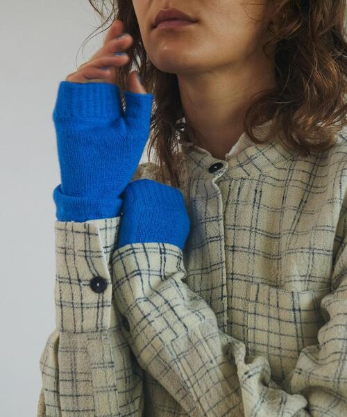 <Johnstons of Elgin>CASHMERE GLOVES/グローブ