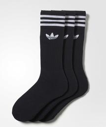 adidas(アディダス)の靴下3足セット [SOLID CREW SOCK] アディダスオリジナルス(ソックス/靴下)