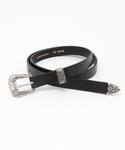 Bshop | 【MAISON BOINET】	20mm belt with silver finish buckle  ベルト(ベルト)