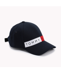 TOMMY JEANS(トミー ジーンズ)のコットンツイルロゴベースボールキャップ(キャップ)