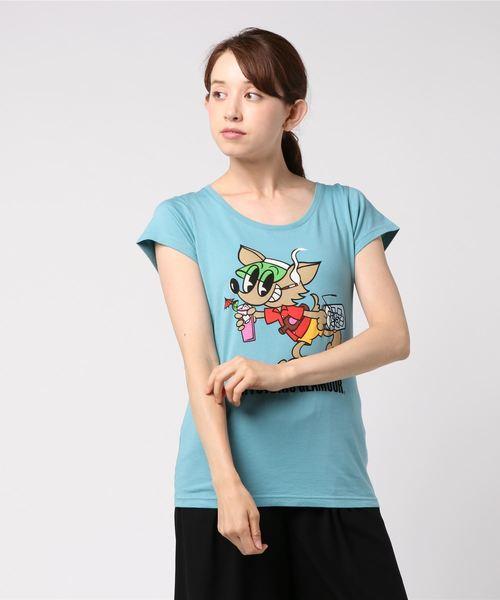 JOEY AFFAIRプリントTシャツ