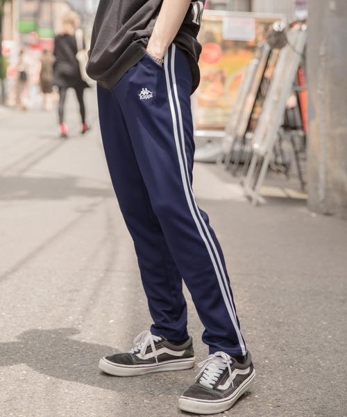 【BASQUE -enthusiastic design-】Kappa/カッパ 別注 サイドラインパンツ