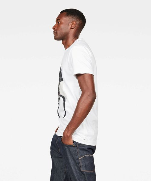 G-STAR RAW Graphic 3 Pocket Polo Hombre
