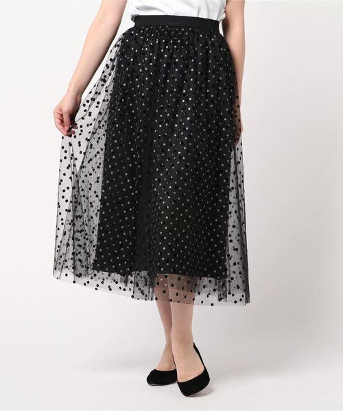 2019春の新作 フロッキーグリッタードットギャザースカート(スカート)|Loulou Willoughby(ルルウィルビー)のファッション通販, セクシーランジェリーショップMTC:b04edb5d --- wm2018-infos.de