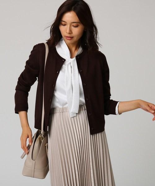 輝い [L]カーデ×ボウタイブラウスSET(アンサンブル)|UNTITLED(アンタイトル)のファッション通販, 神戸摩耶山 オテルド摩耶:fb77590c --- steuergraefe.de