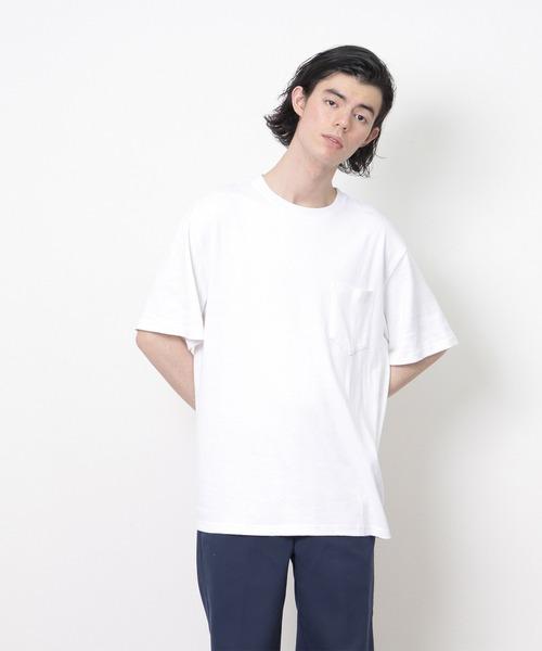 ∴2021年5月12日発売 lala begin 7,8月号 016P 掲載【 Goodwear / グッドウェア 】レギュラーフィット 半袖クルーネックポケットTシャツ ヘンプコットン