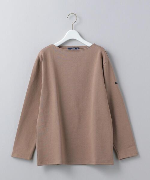 <SAINT JAMES>OUESSANT SOLID PULLOVER/カットソー Ψ: