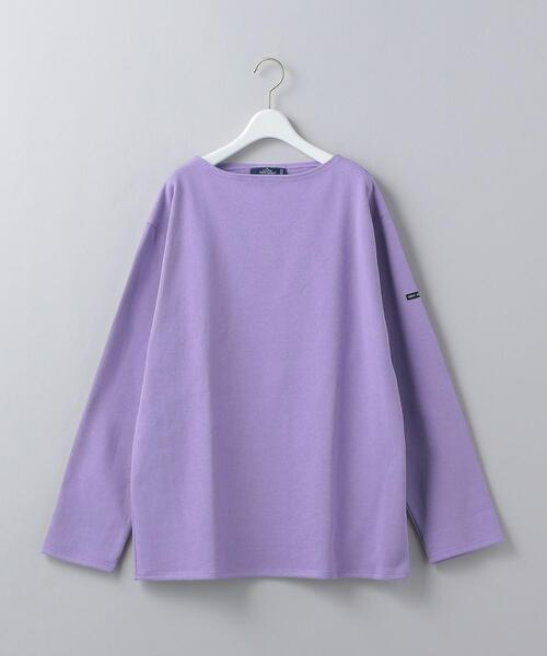 <SAINT JAMES>OUESSANT SOLID PULLOVER/カットソー