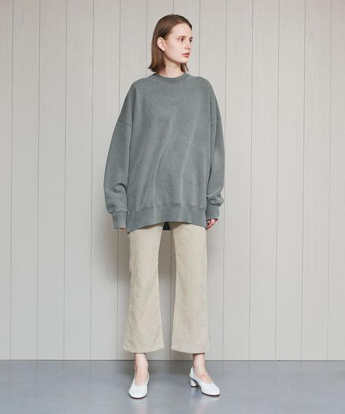 <R JUBILEE>CREW NECK SWEAT PULLOVER/スウェット.