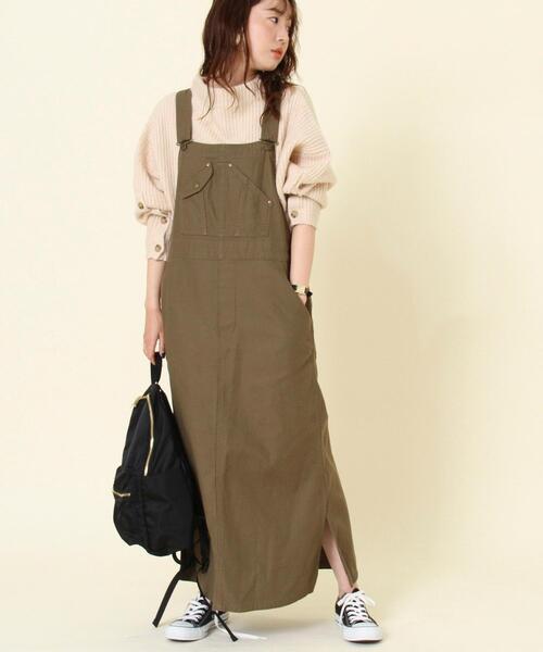 ワークサロペットスカート#(ジャンパースカート)