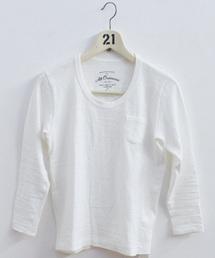 ALL ORDINARIES(オールオーディナリーズ)のフラットシーマUネック長袖T (Tシャツ/カットソー)
