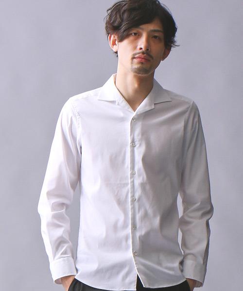本物保証!  【セール】アルビニドビーストレッチオープンシャツ(シャツ/ブラウス)|5351 LES POUR エラ LES HOMMES HOMMES(ゴーサンゴーイチプールオム)のファッション通販, 那賀川町:08aa712a --- steuergraefe.de