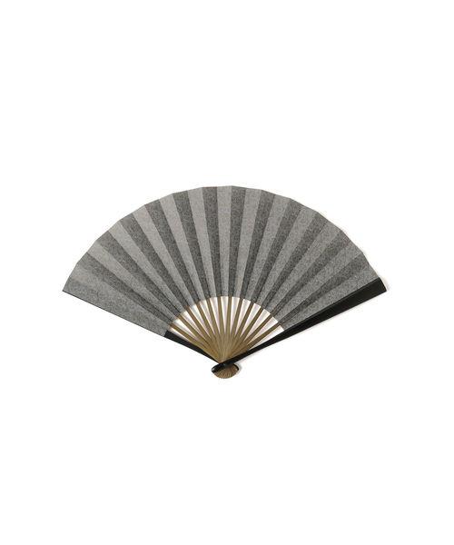 3.14 × BEAMS JAPAN / 別注 江戸小紋 型紙 扇子