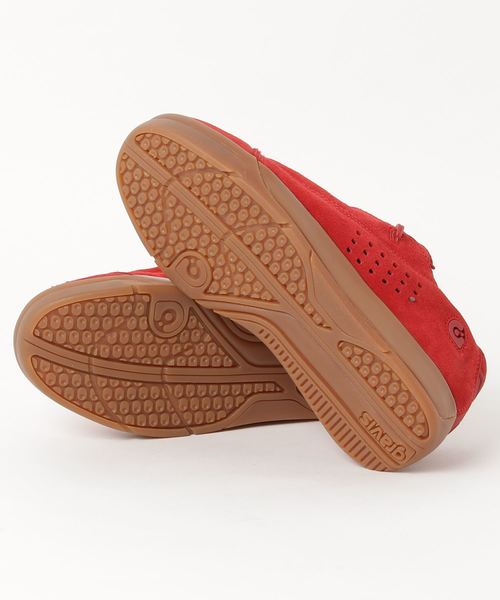gravis グラビス TARMAC SUEDE ターマック スウェード 15001 RED/GUM