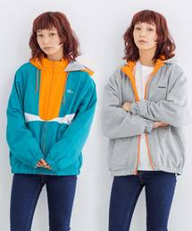 X-girl(エックスガール)のREVERSIBLE HOODED JACKET(ブルゾン)