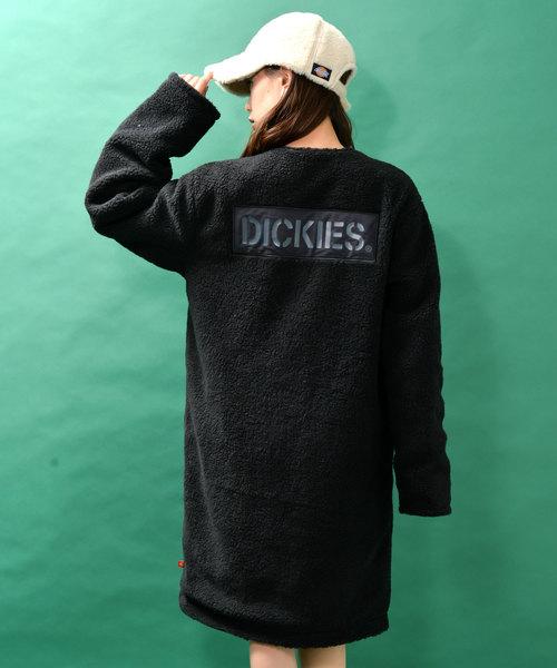 Dickies ディッキーズ リバーシブルボアロングコート