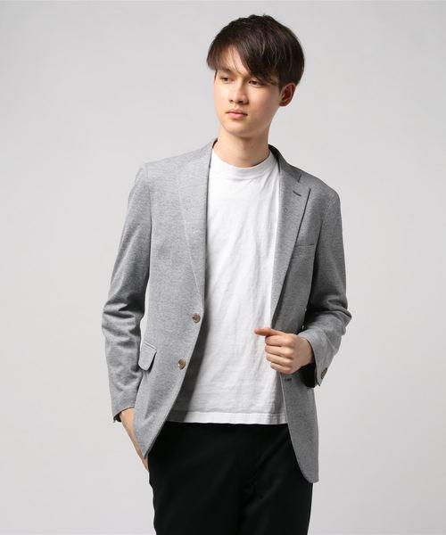 激安商品 【セール】イズミールコットン鹿の子ニットJK(テーラードジャケット)|Perfect Suit Suit FActory(パーフェクトスーツファクトリー)のファッション通販, 高崎町:3aecff8f --- pyme.pe
