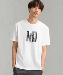 [アンドライド] SC AND-RIDE フォトプリント クルーネック 半袖 Tシャツ