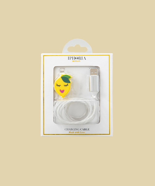 【IPHORIA アイフォリア】アイフォンケース Lighting Cable for Apple iPhone - Silicon collection