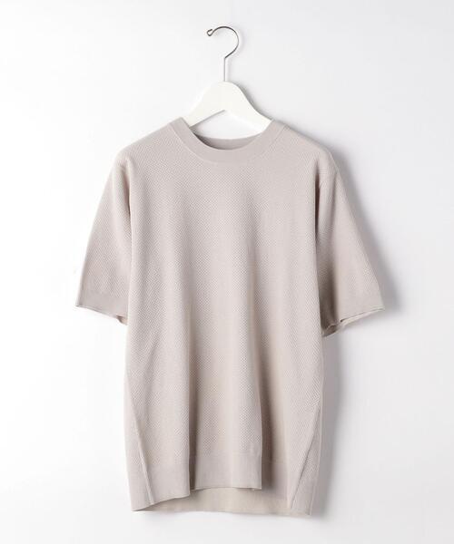ET HT/CO ミニ ポップコーン クルー ニット Tシャツ < 機能性 / 手洗い可能 >