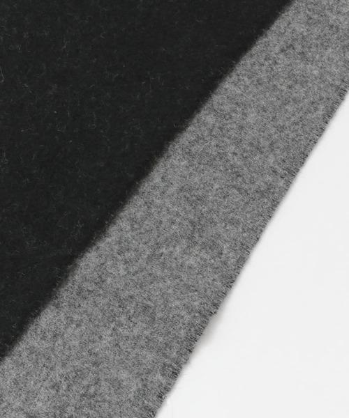 URBAN RESEARCH DOORS(アーバンリサーチドアーズ)の「カシミヤブレンド ダブルフェイスマフラー(マフラー)」 詳細画像