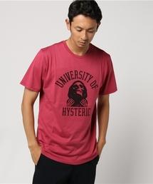UNIVERSITY OF HYS プリント Tシャツ