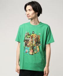 SKLX/TEENAGE DIRTBAGプリントTシャツ