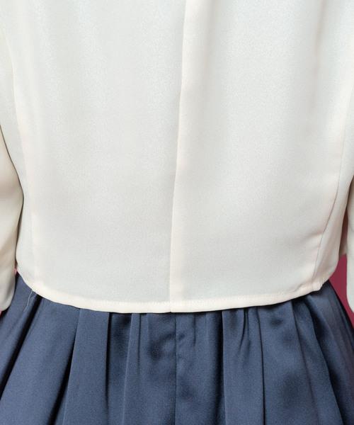 袖リボンボレロ(9R19-BL4624)