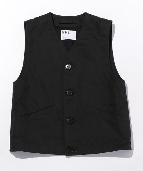 新着商品 <MHL.> DCD DCD VEST UNITED/ベスト(ベスト)|MHL.(エムエイチエル)のファッション通販, cocoro工房:9412ad08 --- 5613dcaibao.eu.org