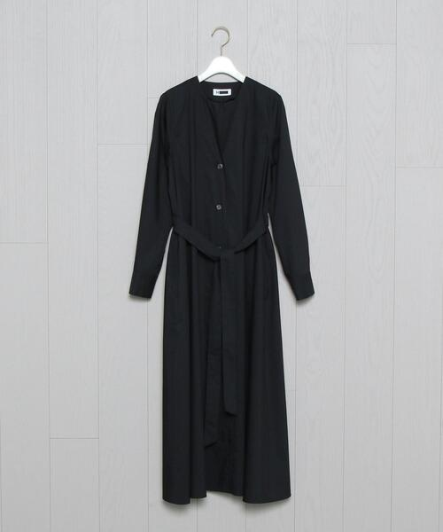 <H>TYPEWRITER CLOTH RIBBON DRESS/ワンピース ο